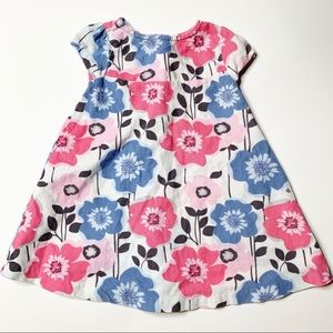 Gymboree corduroy floral dress baby 12-18 months